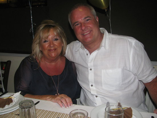 White Lady Cretan Family Taverna: SIMON AND HIS WIFE HELENA