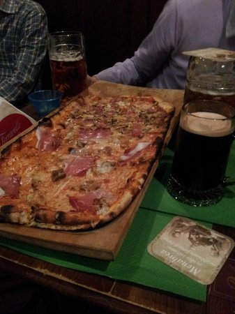 Mc Roy Inn: Pizza alla pala bi-gusto :)
