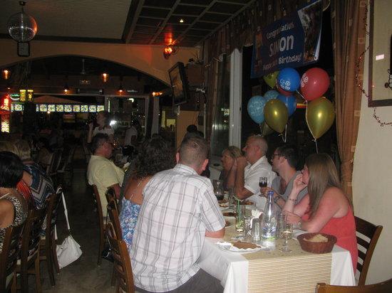 White Lady Cretan Family Taverna: JO-JO SONG FOR SIMON &HELENA