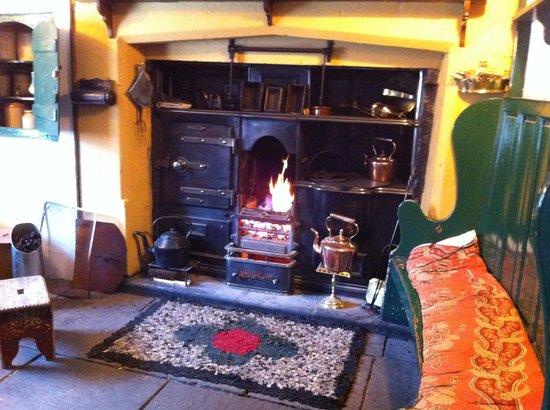 Beamish Museum: farmhouse range