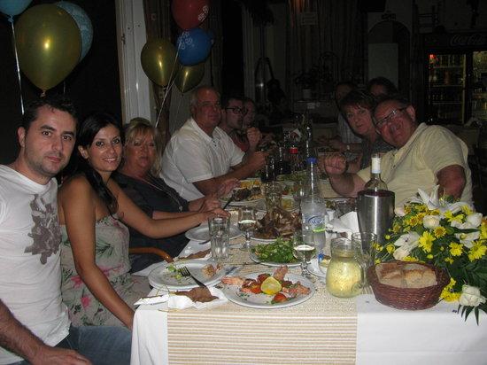 White Lady Cretan Family Taverna: FRIENDS