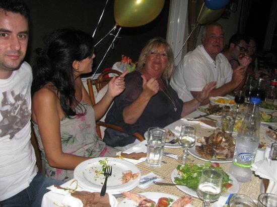 White Lady Cretan Family Taverna: LAMB IS GREAT