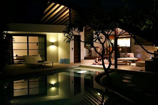 The Layar - Designer Villas and Spa: night