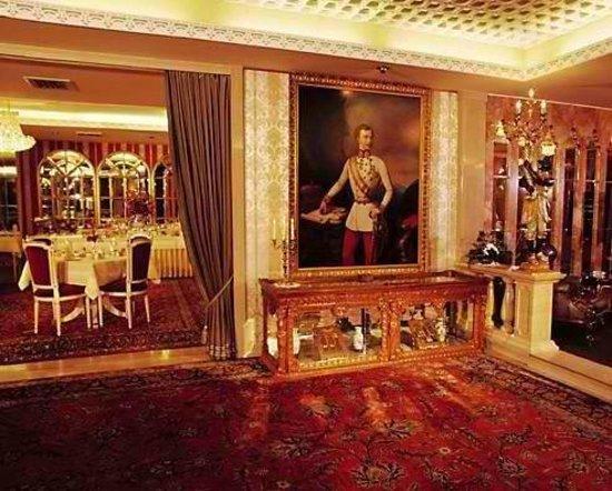 Hotel Palais Porcia: Blick in den Frühstückssaal