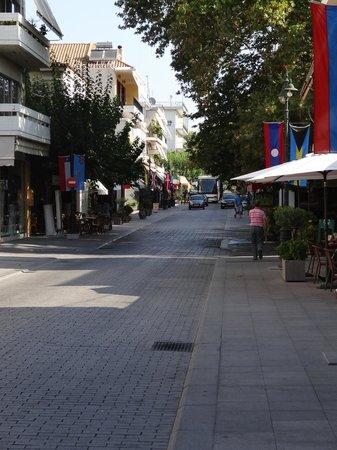 แองเชี่ยน โอลิมเปีย (อาร์ไชย่า โอลิมเปีย): Great shops, restaurants, and friendly people. And it is while in walking distance of Olympia.