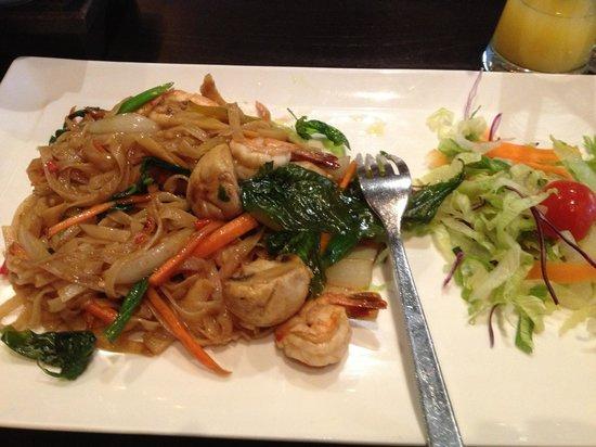 Sukhothai South Parade Leeds: Chilli noodles nomnom