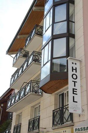 La Vanoise: Les Bow windows des chambres