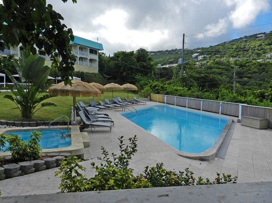 Flamboyan on the Bay Resort & Villas: Lower pool and relax area