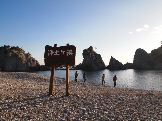 Jodogahama  Beach : 浜