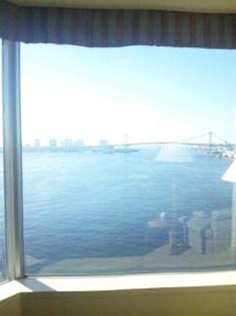 โรงแรมอินเตอร์คอนติเนนตัล โตเกียว เบย์: 晴れていて海がきれい