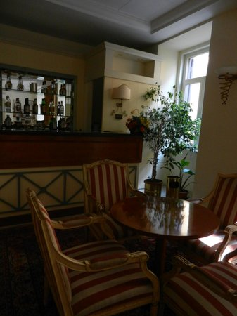 Hotel Delle Vittorie: Bar area