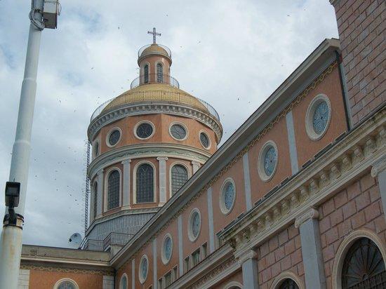 Sanctuary of the Madonna di Tindari: Vista laterale