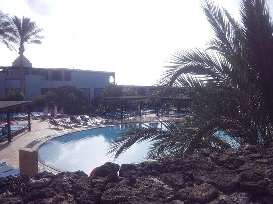 Occidental Jandia Playa: la piscina con la cascata