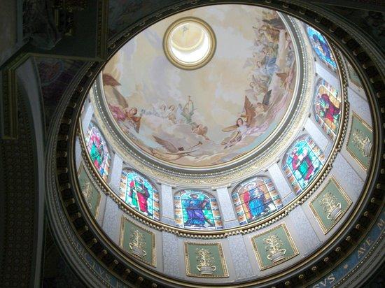 Sanctuary of the Madonna di Tindari: Cupola vista dal basso