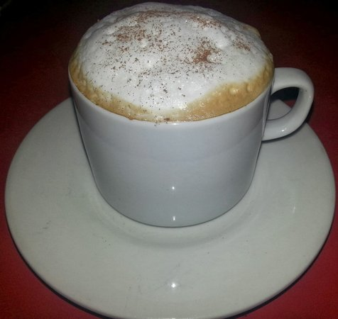 Hotel Bali Panama: Our Capuchino.  The best in Town