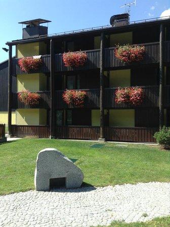 Centro Pineta Family Hotel & Wellness: ancora fiori sui balconi camere
