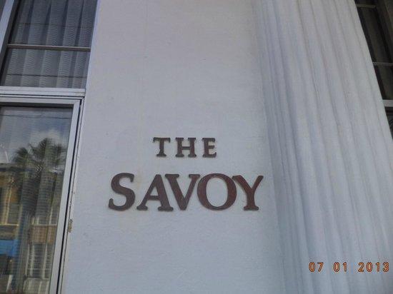 The Savoy Hotel & Beach Club: The Hotel