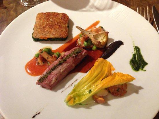 La Place de Mougins: Fantastic lamb dish
