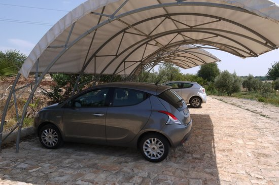 Agriturismo Case Brizza: Nette parking