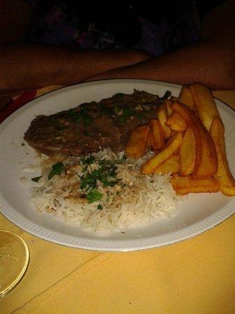 Tassos Village Grill: Softiro - a local Corfiot speciality