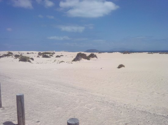 Corralejo Dunes: verso le dune fronte lanzarote