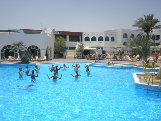 Imperial Shams Abu Soma Resort: Aerobik na basenie
