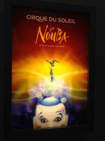 La Nouba - Cirque du Soleil: entranda