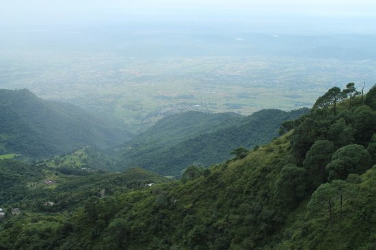 Birds View Kasauli: Kasauli Valley