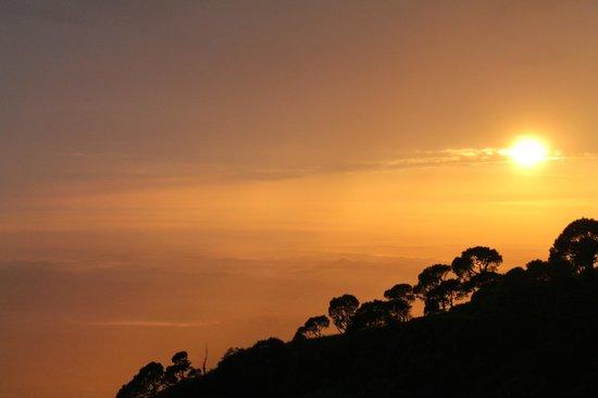 Birds View Kasauli: Sun set in Kasauli Valley