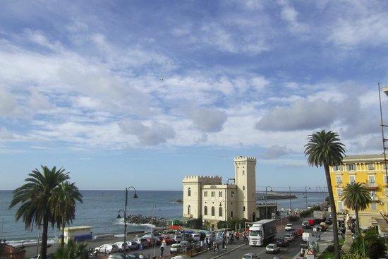 Grand Hotel Mediterranee : Vue au réveil