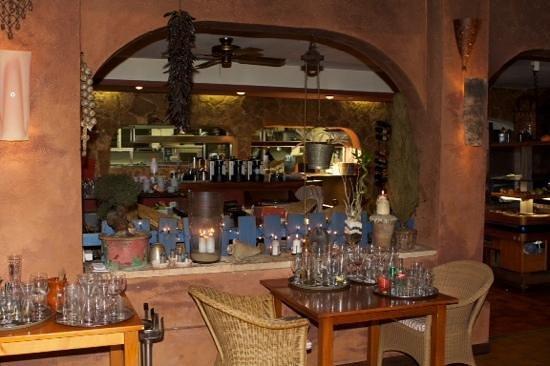 La Hacienda: Sicht,buffet Küche