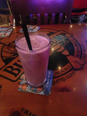 Bubba Gump Shrimp Co.: coquetel de blueberry