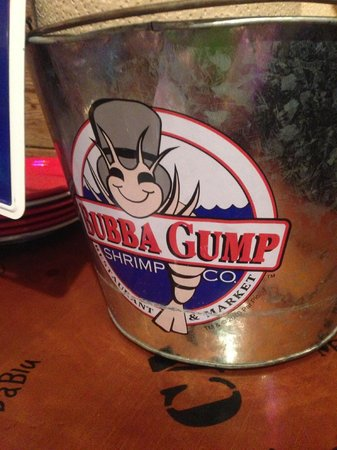 Bubba Gump Shrimp Co.: decoracao