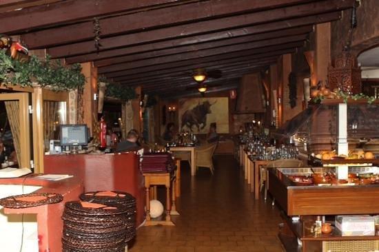 La Hacienda: Salat Buffet rechts