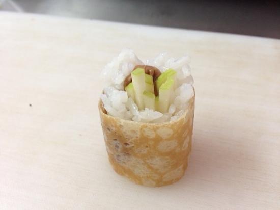 Lov'eat: Sushi sucré, pomme-crème de speculous