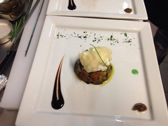 PRISCO ristorante in ROMA: Caponatiba con ricotta crocante in tempura
