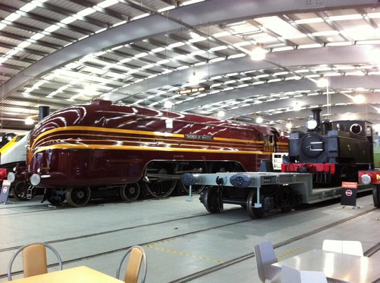 Locomotion: The National Railway Museum at Shildon: my favourite steam engine...