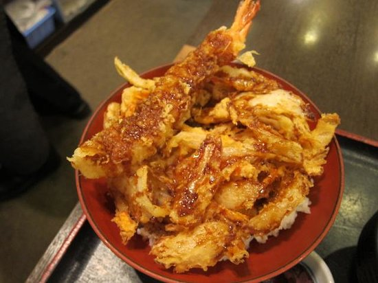 Tendon Specialty restaurant Manten Centrair: 丼