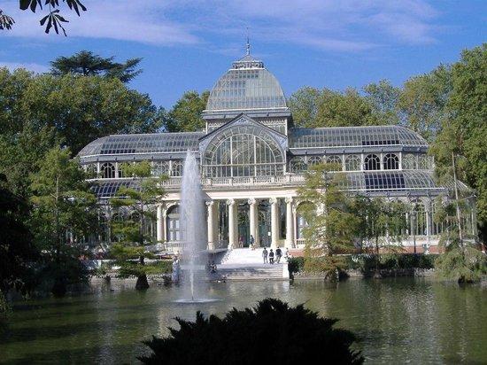 เรติโรปาร์ค: palacio de cristal