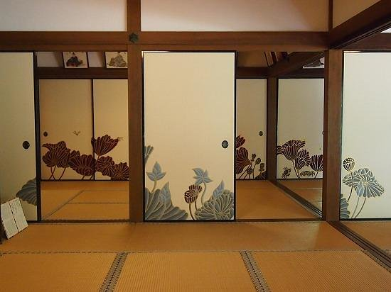 Shoren-in Temple (Shoren-in Monzeki): 素敵な襖絵