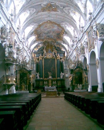 Regensburg, Jerman: St. Emmeram Church interior
