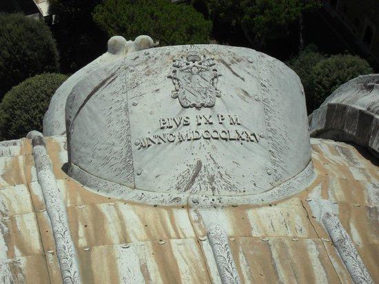 Cupola di San Pietro: На краше собора