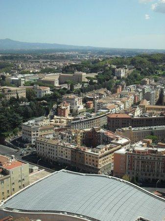Cupola di San Pietro: Вид на Рим