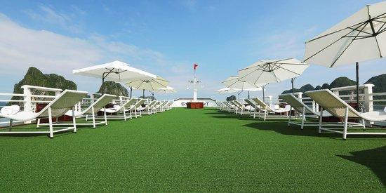 Starlight Cruise Halong Bay - Day Tour: Sundeck
