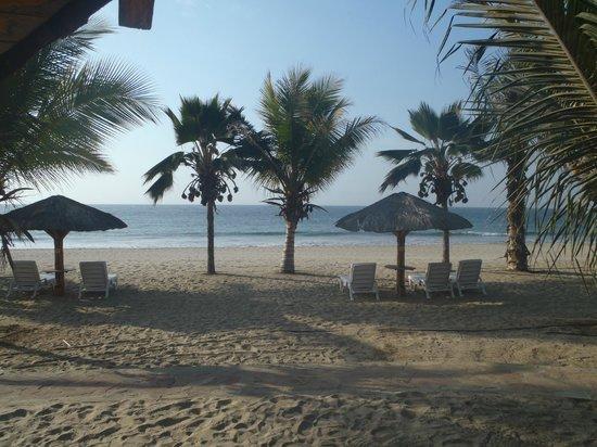 Punta Sal Suites & Bungalows Resort: Vista desde entrada de la habitacion