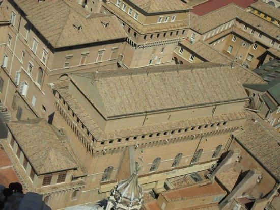 Cupola di San Pietro: Сикстинская капелла