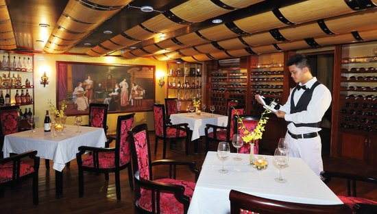 Starlight Cruise Halong Bay - Day Tour: Wine cellar