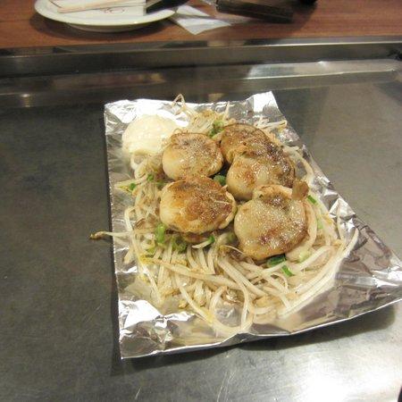 Okonomiyaki Nagata-ya: Vieras con salsa de mantequilla