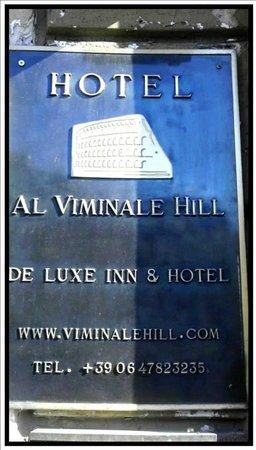 Al Viminale Hill Inn & Hotel: .Hotel info.