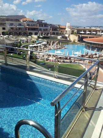 Atlantica Sensatori Resort Crete: View from our pool balcony